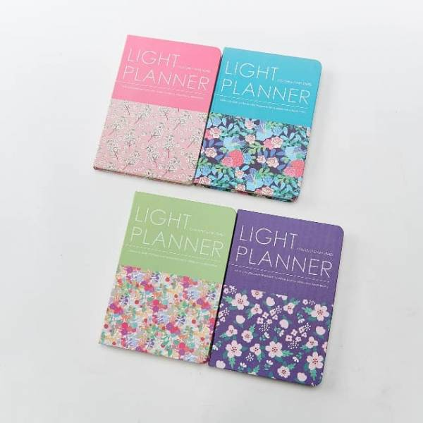 34002 Floral A5 Notebook Pack Of 4
