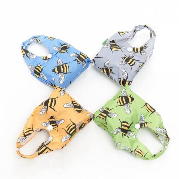 35152 Bees Foldable Shopper Pack Of 4