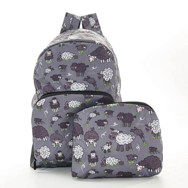 35363 Grey Sheep Foldable Backpack