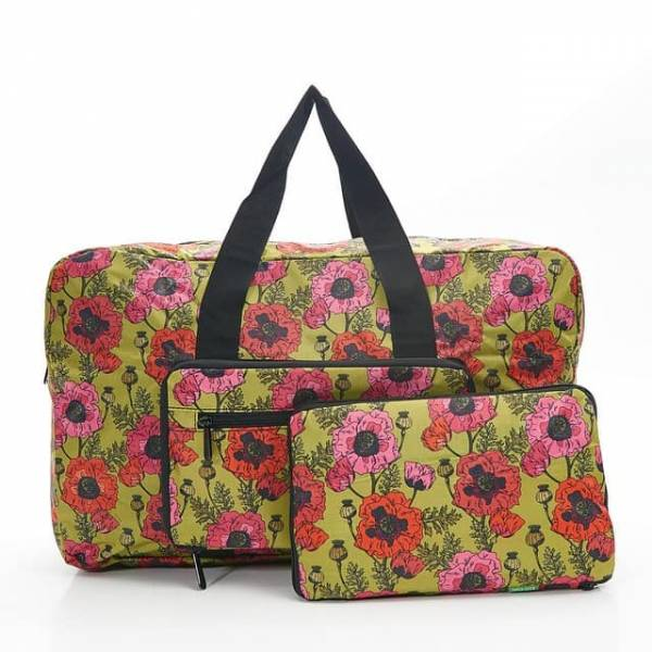 35449 Yellow Poppies Foldable Holdall
