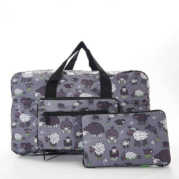 35464 Grey Sheep Foldable Holdall