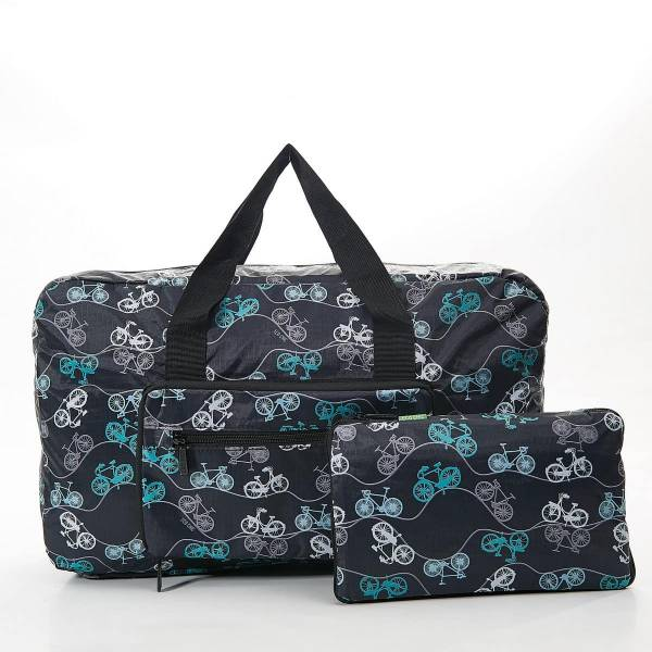 35468 Black Bike Foldable Holdall