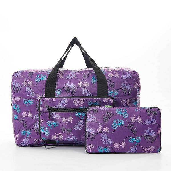 35468 D25 Purple Bike Foldable Holdall
