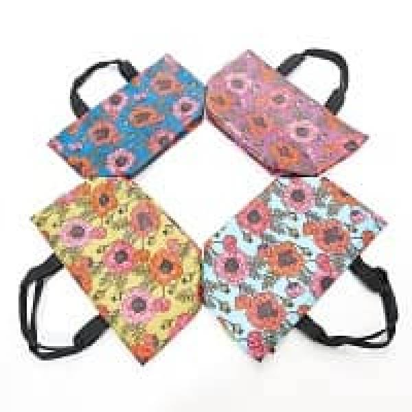 35639 C09  Poppies Cool Bag Pack Of 4