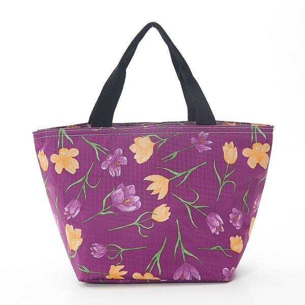 35658 Purple Crocus Cool Bag Pack Of 2