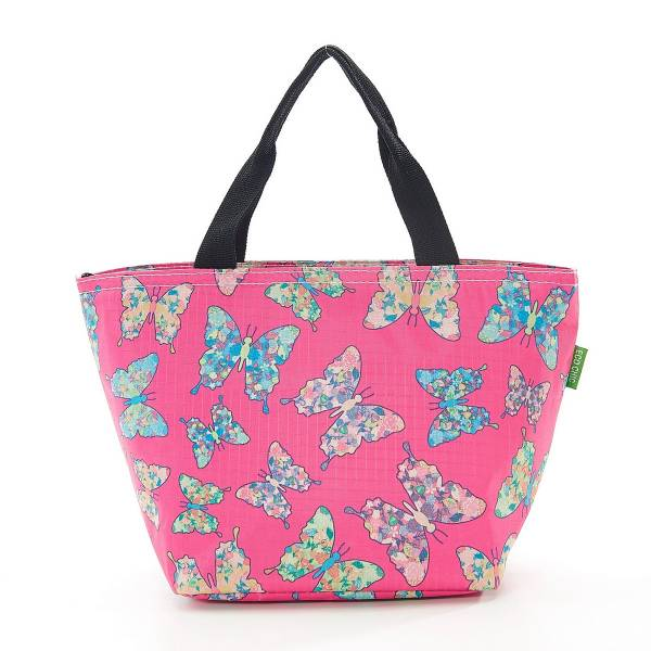 35659 Fuchsia Butterfly Cool Bag Pack Of 2