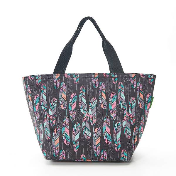 35671 C21 Black Feather Cool Bag Pack Of 2