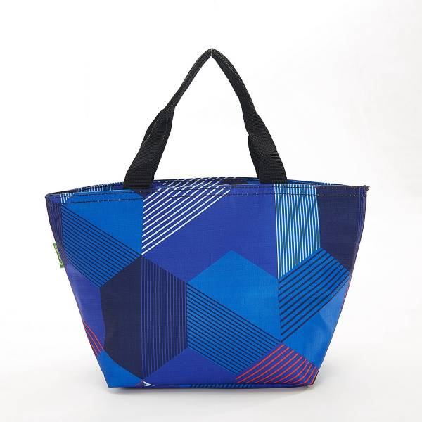 35674 Blue Triangle Cool Bag Pack Of 2