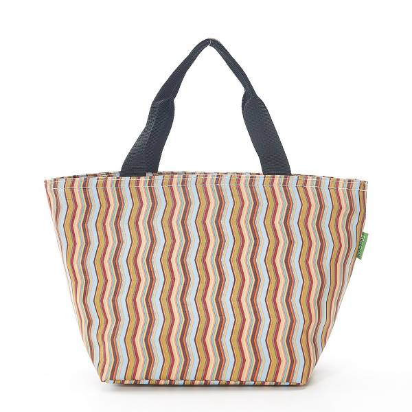 35675 Neutral Zig Zag Cool Bag Pack Of 2