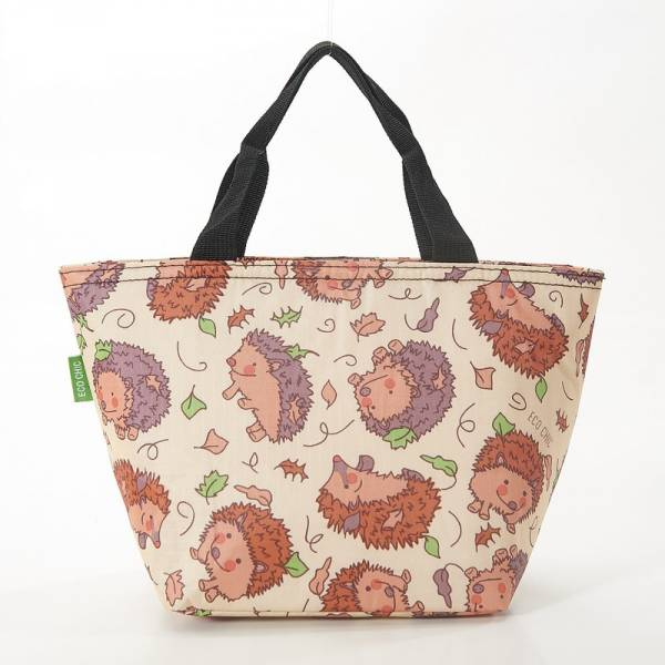 35681 Beige Hedgehog Cool Bag Pack of 2
