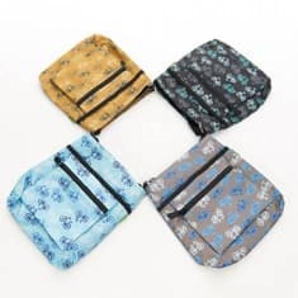 35713* Vintage Bike Foldable Cross Body Bag Pack Of 4