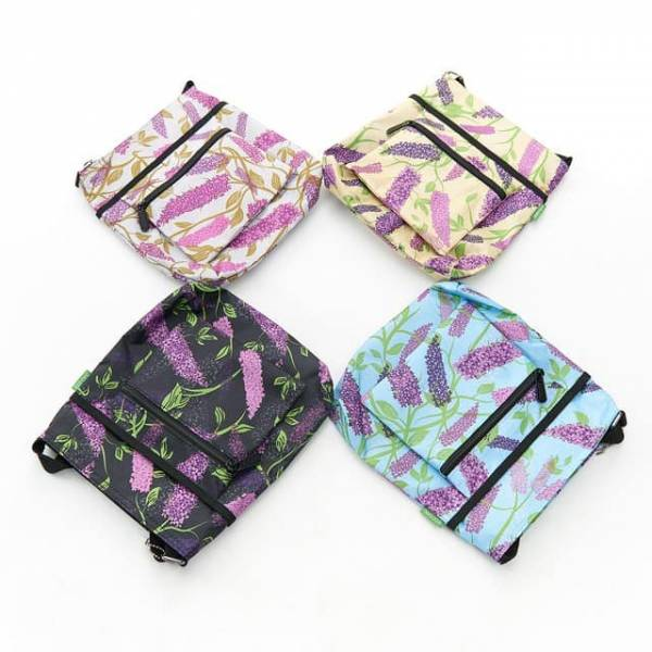 35733 Buddleia Foldable Cross Body Bag Pack Of 4