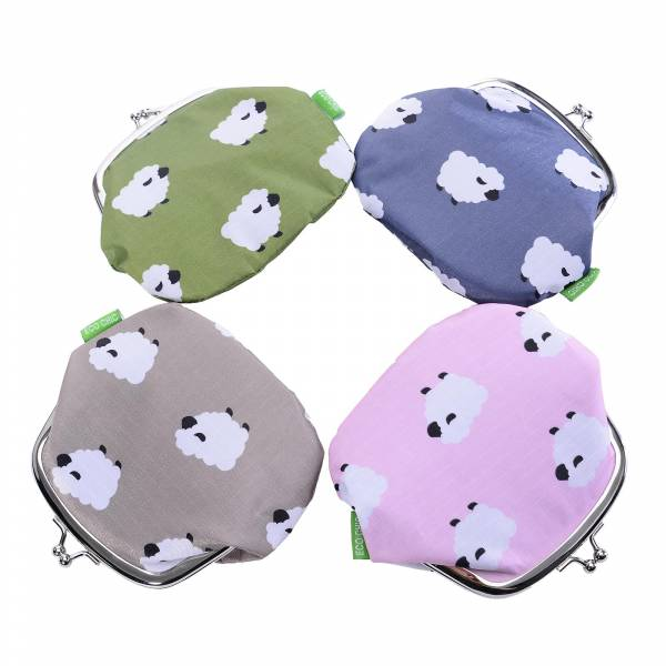 35812 Sheep Print Coin Purse Pack Of 4
