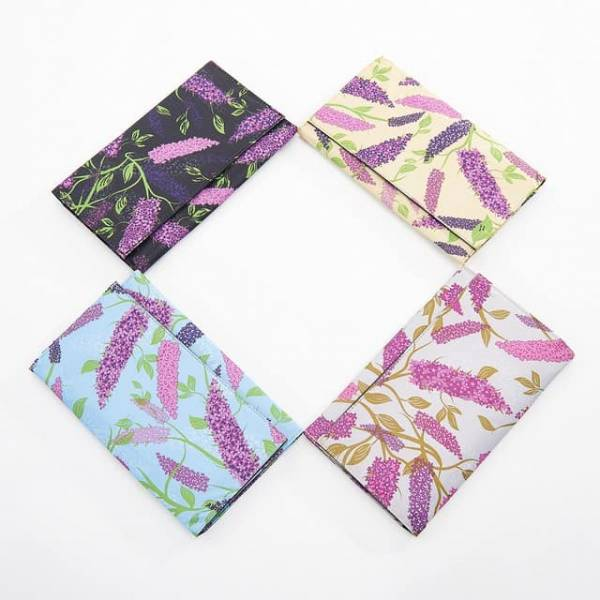 35910 Buddleia Travel Wallet Pack Of 4