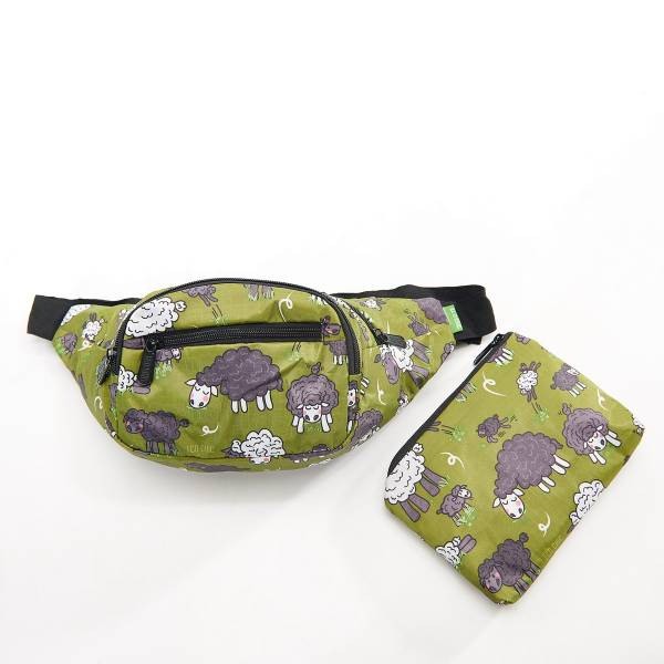 42011 Green Sheep Foldable Boot Bag Pack Of 2