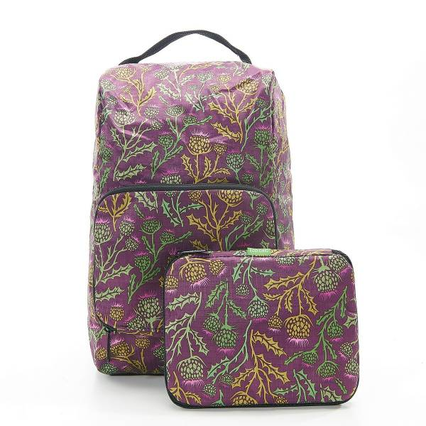 42002 Purple Thistle Foldable Boot Bag Pack Of 2