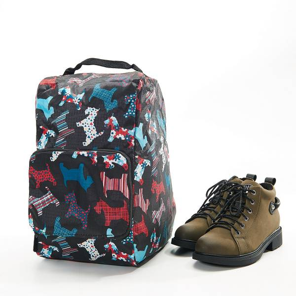 42012 Black Scotty Foldable Boot Bag Pack Of 2