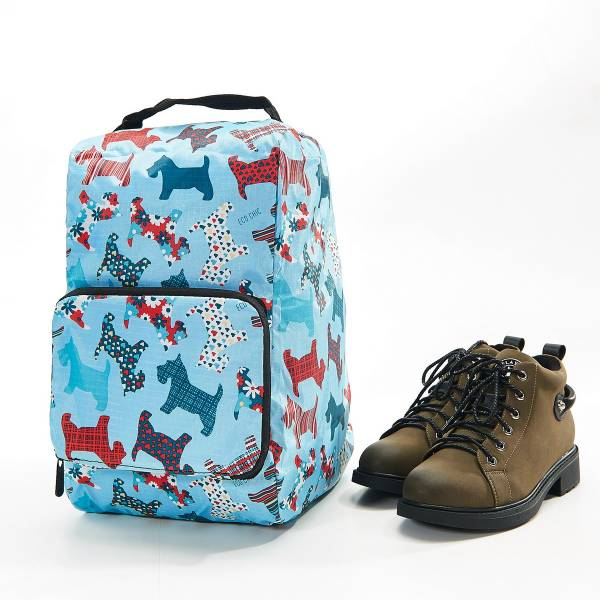 42012 Blue Scotty Foldable Boot Bag Pack Of 2