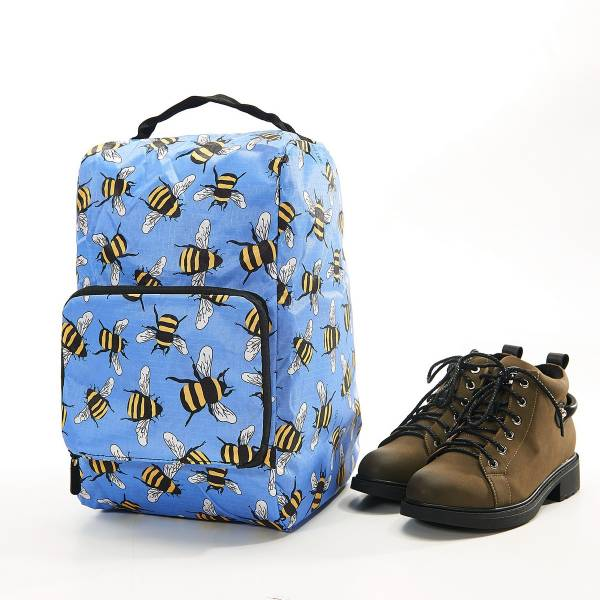 42013 Blue Bees Foldable Boot Bag Pack Of 2