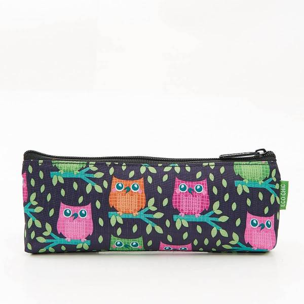 45000 Purple Owl Pencil Case Pack Of 4