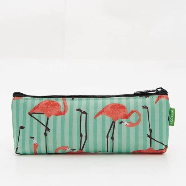 45004 Green Flamingo Pencil Case Pack Of 4