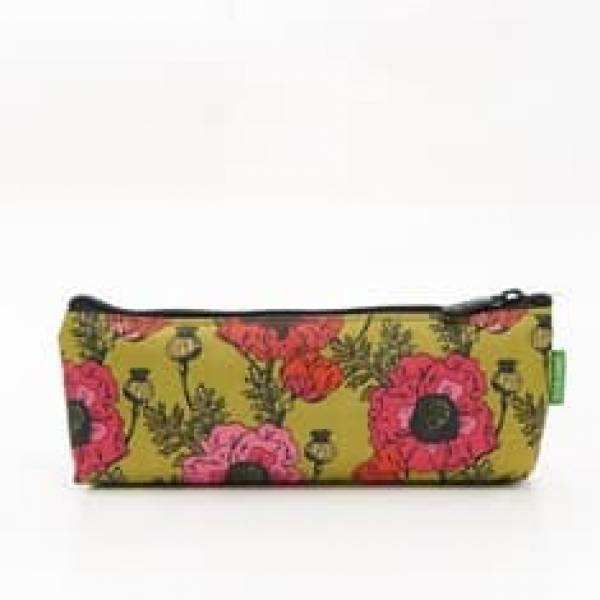 45006 Yellow Poppies Pencil Case Pack Of 4