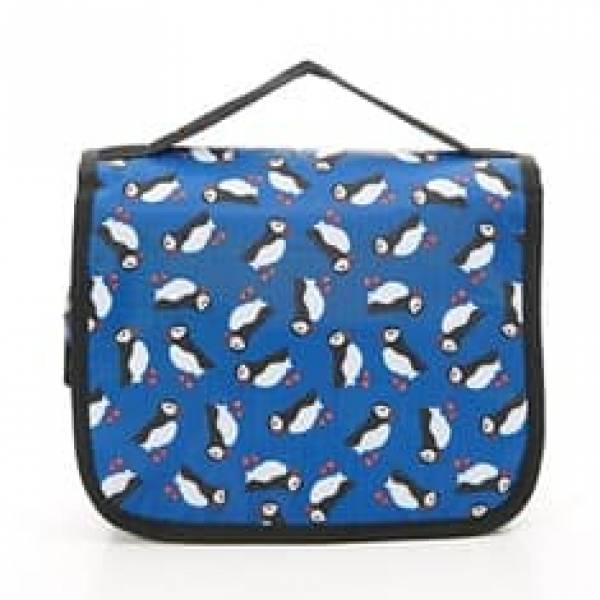 45201 Blue Puffin Toiletry Bag