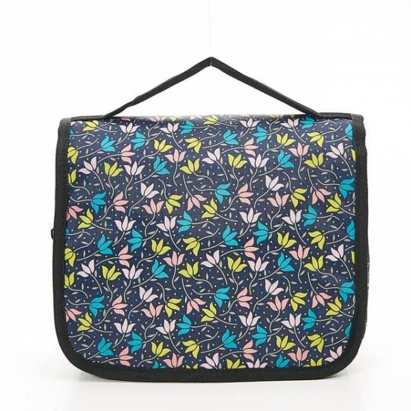 45202 Black Ditsy Doodle Toiletry Bag