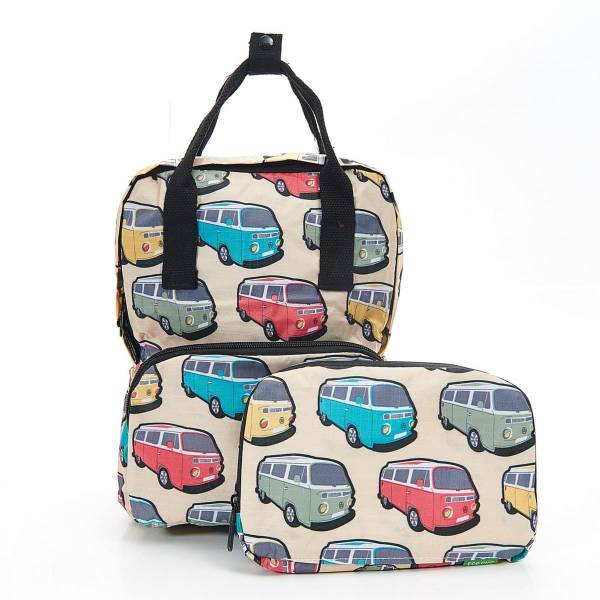 45402 Apricot Camper Vans Mini Foldable Backpack
