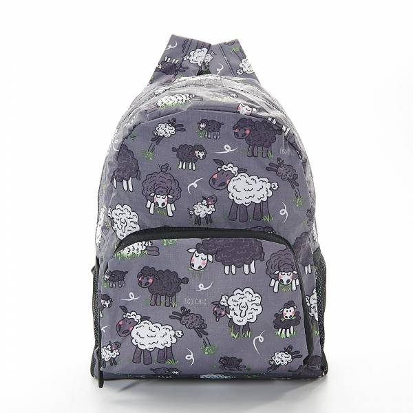 45451 Grey Sheep Mini Foldable Backpack