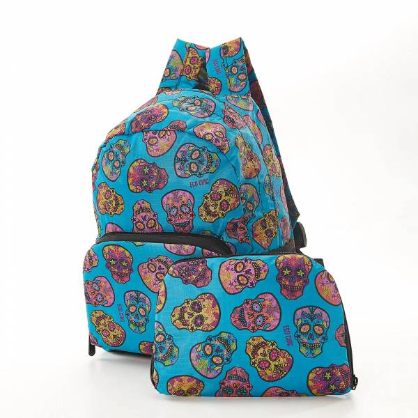 45463 Purple Unicorn Mini Foldable Backpack