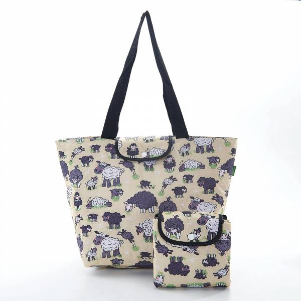 45511 Sheep Foldable Large Cool Bag Pack Of 4