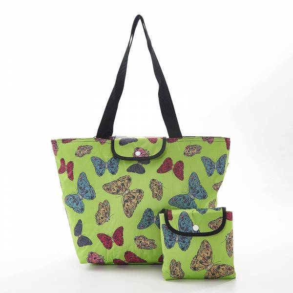 45512 Butterflies Foldable Large Cool Bag Pack Of 4
