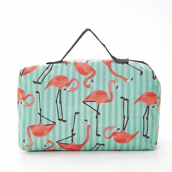 45605 Green Flamingo Picnic Blanket