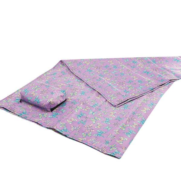 45616 Lilac Butterfly Picnic Blanket
