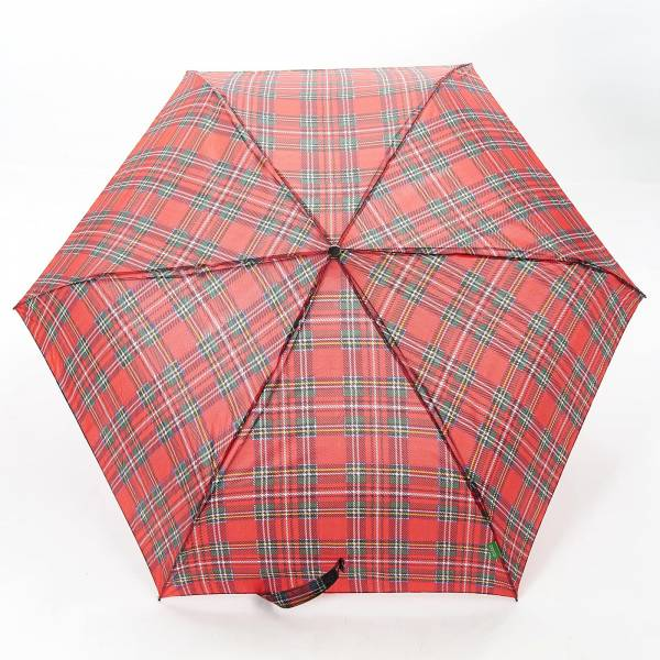 46103 Red Tartan Mini Umbrella