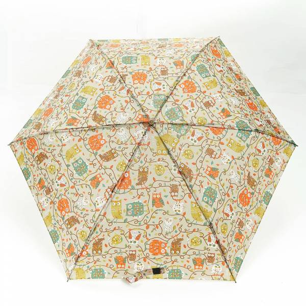 46113 K02  Owl On The Branch Mini Umbrella