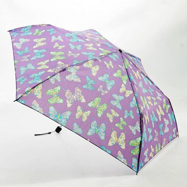 46125 Lilac Butterfly Mini Umbrella Pack Of 2