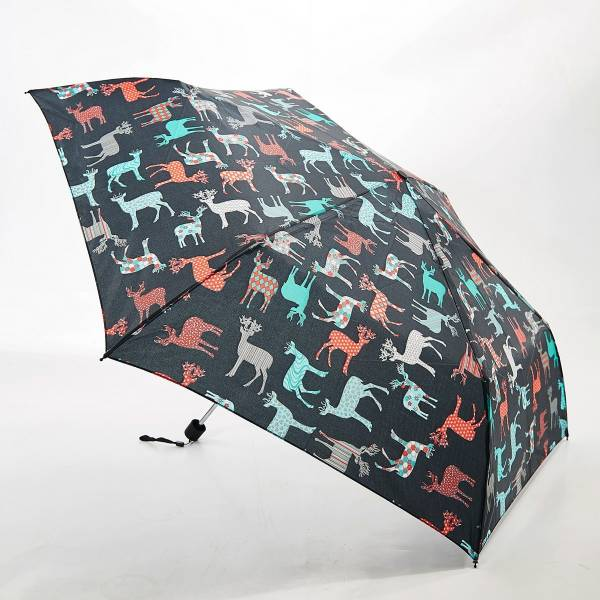 46126 Black Stag Mini Umbrella Pack Of 2