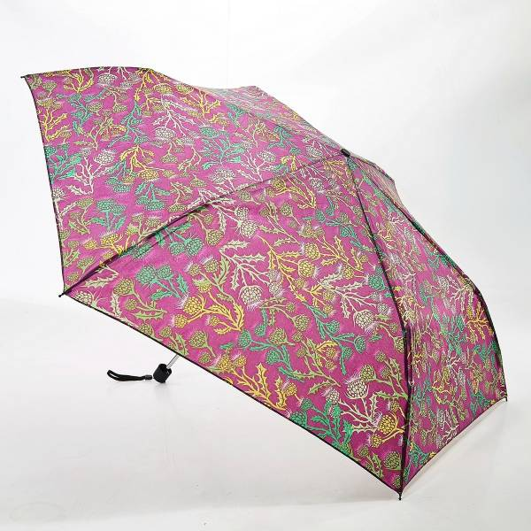 46127 Purple Thistle Mini Umbrella Pack Of 2