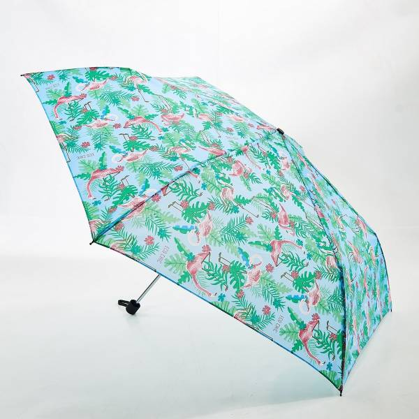 46131 Blue Flamingo Mini Umbrella Pack Of 2