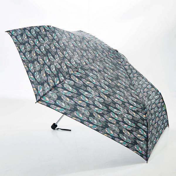 46132 Black Feather Mini Umbrella Pack Of 2
