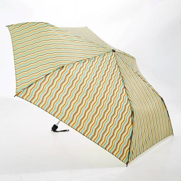 46134 Neutral Zig Zag Mini Umbrella Pack Of 2