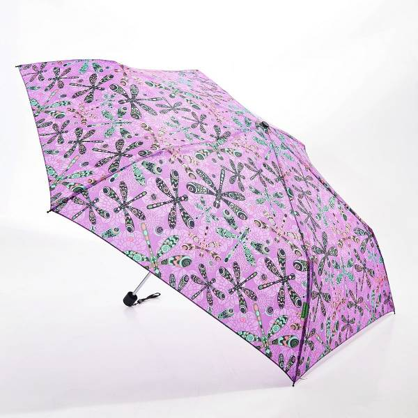 46136 Purple Dragonfly Mini Umbrella Pack Of 2