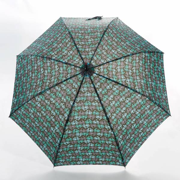 46205 Vintage Bike Fibreglass Walking Umbrella