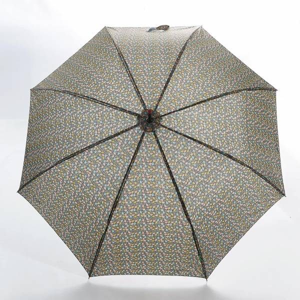 46206 Leaves Fibreglass Walking Umbrella