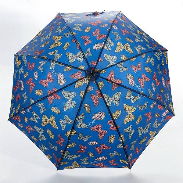 46207 Butterflies Fibreglass Walking Umbrella