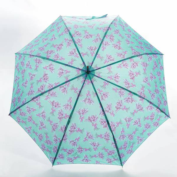 46209 Lavender Fibreglass Walking Umbrella