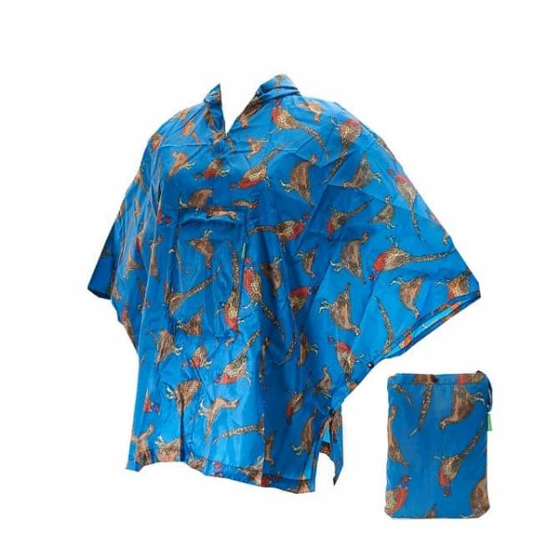 46805 Pheasant And Grouses Small Foldable Poncho