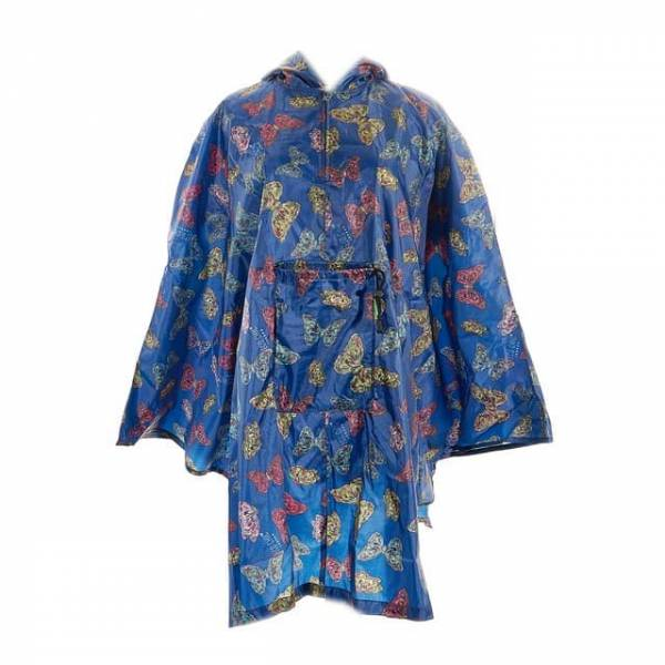 46907 Butterflies Foldable Poncho